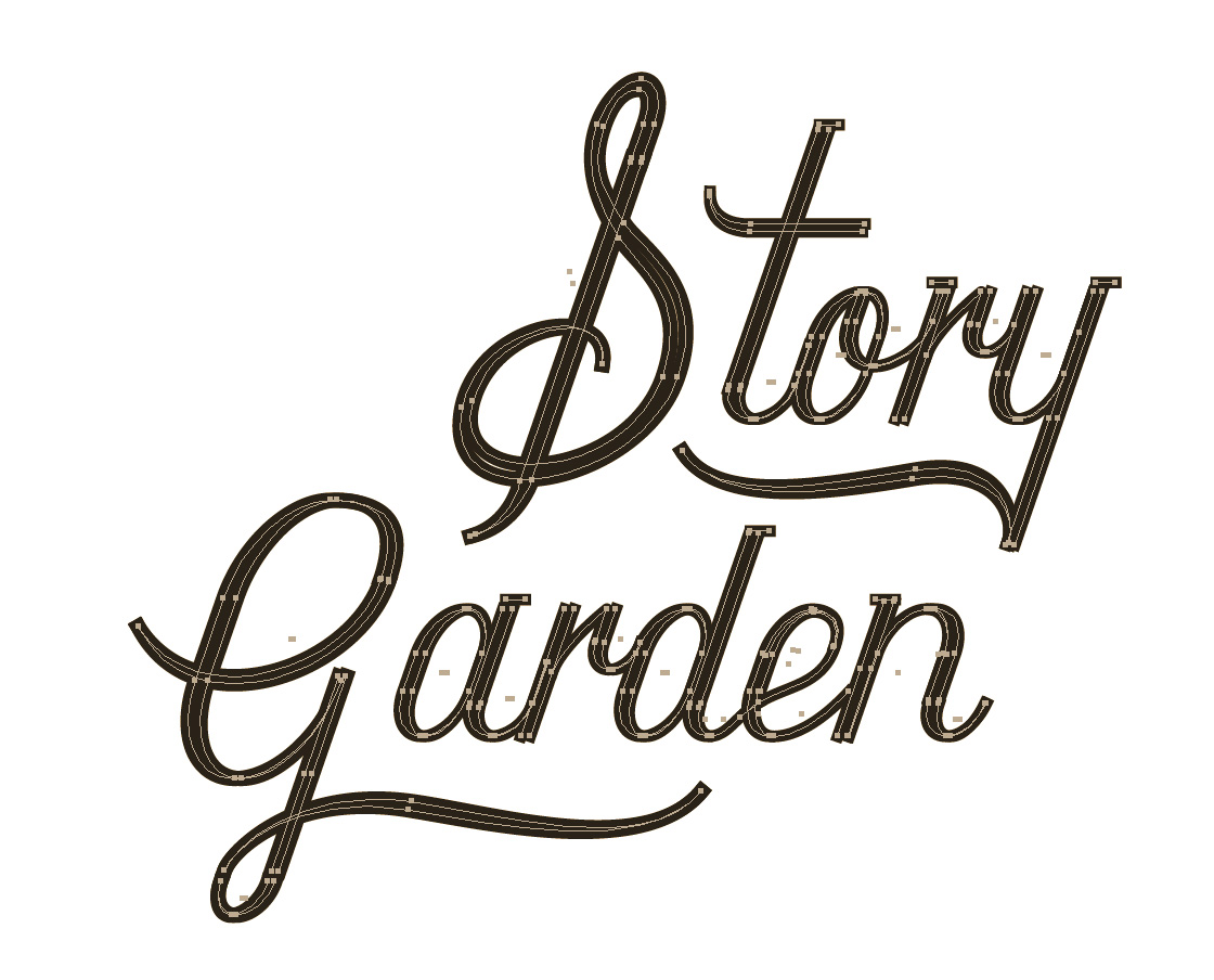 HOD-story-garden-type-vectory