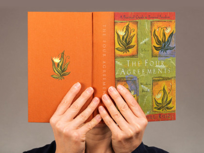 You should read The Four Agreements